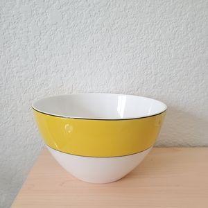 Kate Spade Lenox Rutherford Yellow Bone China Bowl